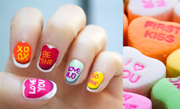DIY Valentine's Day Nail Decals
