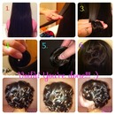 HEATLESS PIN CURLS PICTORIAL!!!