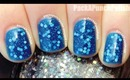 Glitter Jelly Sandwich Nail Art Tutorial