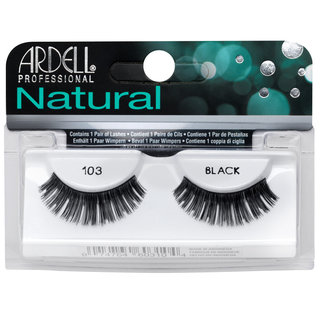 Natural Lashes 103 Black