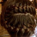 Quick braid.