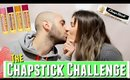 Romantic CHAPSTICK CHALLENGE with Boyfriend and Girlfriend, romantic chapstick challenge video
