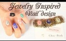 HOW TO: Jewelry Inspired Nail Design (Part 1)