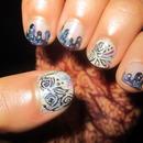 Galaxy Drip Nails!