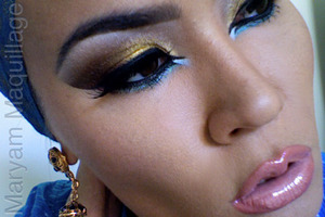 Arabic makeup http://www.maryammaquillage.com/2011/10/arabian-nights-arabian-days.html