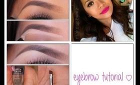 Eyebrow Tutorial (Using MUFE Aquabrow)