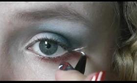 Diamond Jubilee inspired eye makeup tutorial
