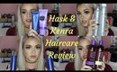 Hair Care Review featuring HASK And Kenra products | Beauty by Pinky