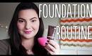 Foundation Routine (feat. BECCA, Jouer, MUFE, NARS) | OliviaMakeupChannel