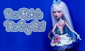 Dear Kukula Inspired Teacup Girl Doll Repaint