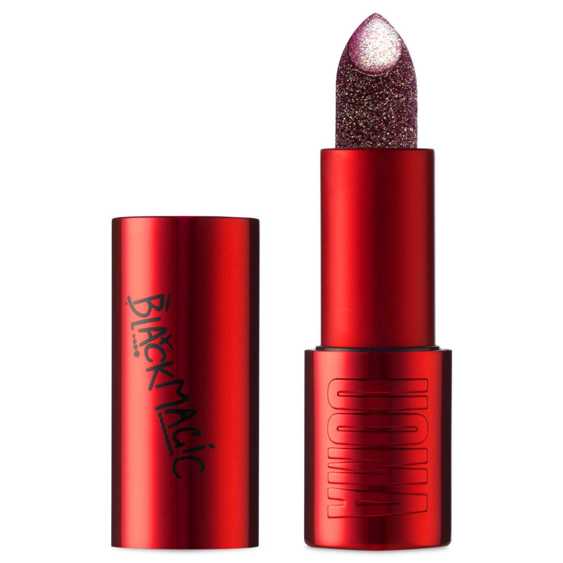 UOMA Beauty Black Magic Lipstick Hypnotic Impact Metallic Lipstick Bahia alternative view 1 - product swatch.