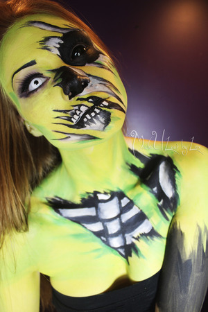My concept inspired by Living Dead Girl by Rob Zombie <3 www.facebook.com/madeulookbylex
