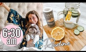 6:30 am routine // GET HEALTHY WITH ME 2020