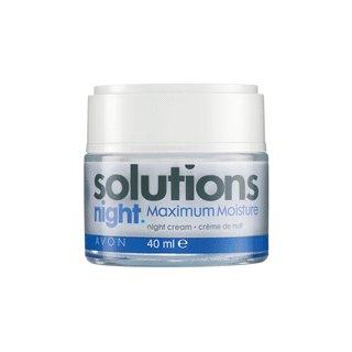 Avon Solutions Maximum Moisture Night Cream