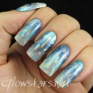 Read the blog post at http://glowstars.net/lacquer-obsession/2014/12/the-digit-al-dozen-does-winter-wonderland-an-iced-foil-gradient/