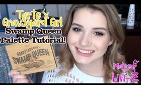 Tarte Grav3yardGirl Swamp Queen Palette: Gold & Rust Makeup Tutorial!