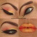 Double wing eye liner