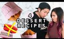4 Simple Valentine's Day Desserts You Must Try! Boyfriend Tested