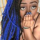 Blue Marley Twists💙