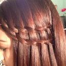 Double waterfall braid!