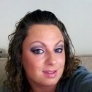 Pink and Black smokey Eye