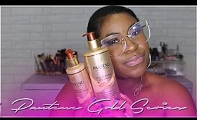 Pantene Gold Series First Impressions Review And Demo  2017