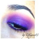 Ombré purple smokey eye ;)