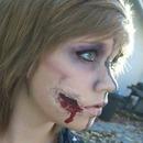 Cut Cheek Makeup