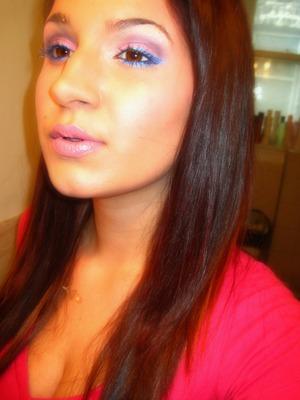 Rihanna S&M Inspired Makeup