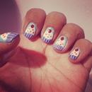 cupcakes nail