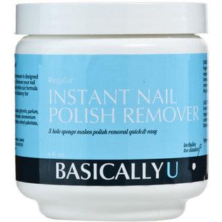 Basically U Instant Acetone Nail Polish Remover