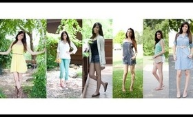 My Spring Look-Book Outfit Ideas!