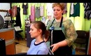 1033 Main Salon & Spa: Upside Down (Inverted, Reverse) French Twist Ponytail With Updo Variations