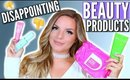 DISAPPOINTING BEAUTY PRODUCTS! Highend | Casey Holmes