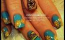 scooby doo: robin moses nail art tutorial