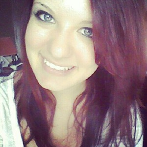 This is when I went from blonde to my much beloved red hair :)