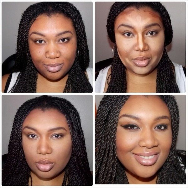 Highlight And Contouring My Round Face Pamela W S