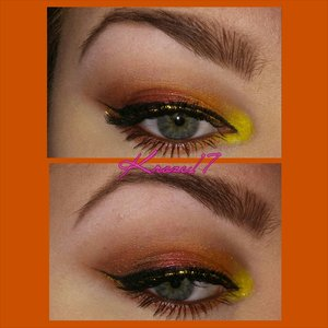 Getting ready for Fall? Just me? Well you can never be too prepared right! I really love these colors, they make green eyes Just pop right out at you! :) I used:  Lorac Pro Palette  Sleek Ultra Mattes Palette Sleek SnapShot Palette  Kat Von D Shade Shifter in On The Road. Tatre Gel Liner in Black NYX Glam Liner in Glam 24 Karat  Rimmel Scandaleyes in Brown Loreal Lash Out Butterfly Mascara in Black What are you most excited about for this Fall season? The new makeup, the shows, the weather? I love it all!  #Loraccosmetics #sleekmakeup #propalette #ultraMattes #snapshots #tarte #nyxcosmetics #loreal #KatVonD #OnTheRoad #rimmel #maybelline #makeup #makeuplook #Beautyshot #beautyproducts #beauty #cosmetics #fall #gold #instabeauty #instamakeup #kroze17