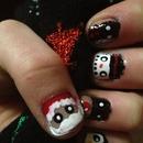 christmas nails! 🎅🎄