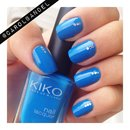 Blue with triple glitter!