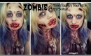 Zombie Time Lapse Makeup Tutorial