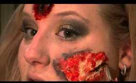 Special FX Makeup Tutorial- Burn Wound