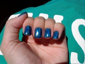 A beautiful brazilian nail polish.