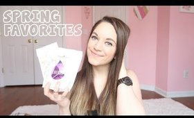 SPRING FAVORITES + MOMMY MUST HAVES | FASHION, BEAUTY, BABY, JEWELRY & GIVEAWAY !!