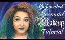 Bejeweled Mermaid Makeup Tutorial (NoBlandMakeup)