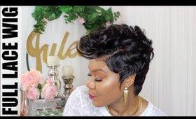 Full Lace Pixie | Fingerwaves & Curls | Juleen Forbes