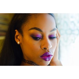 A quick and simple purple look I put together ~xoxo