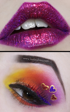 I forgot I did this look. I did it a while ago and never got the chance to put it up!