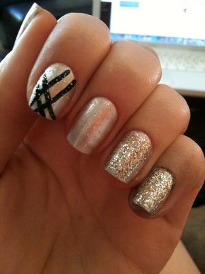 OPI Birthday Babe Orly Tiara Orly Shine On Crazy Diamond Sally Hansen Hard As Nails Clear Coat