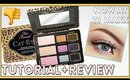 "TOO FACED ""CAT EYES"" PALETTE MAKEUP TUTORIAL + REVIEW"